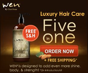 Celebrities who use WEN by Chaz Dean {Plus Special Offer}