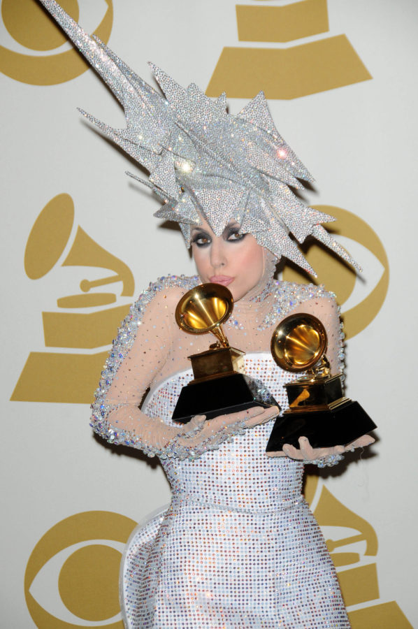 Lady Gagaat the 52nd Annual Grammy Awards, Press Room, Staples Center, Los Angeles, CA. 01-31-10