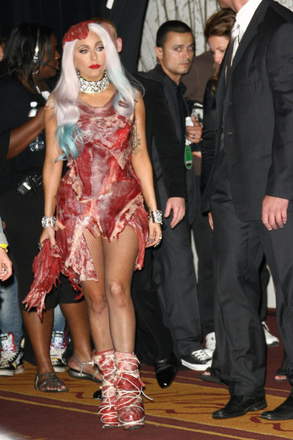 Lady GaGaat the 2010 MTV Video Music Awards Press Room, Nokia Theatre L.A. LIVE, Los Angeles, CA. 08-12-10