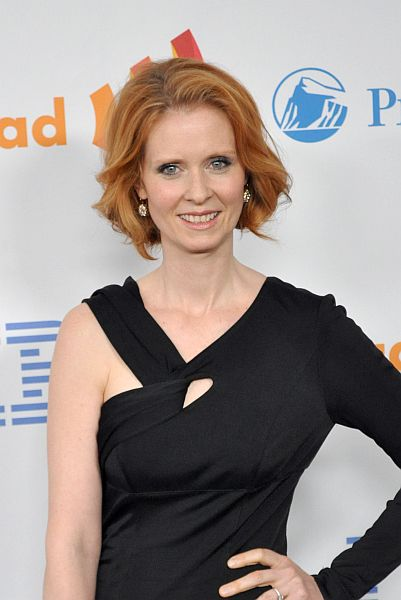 Actress Cynthia Nixon attends 21st Annual GLAAD Media Awards on March 13, 2010 at the Marriott Marquis Hotel in NYC. (Photo © Nick Stepowyj)