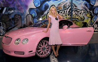 Top Female Celebrities With Impressive Cars