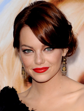 Emma Stone Updo Photo