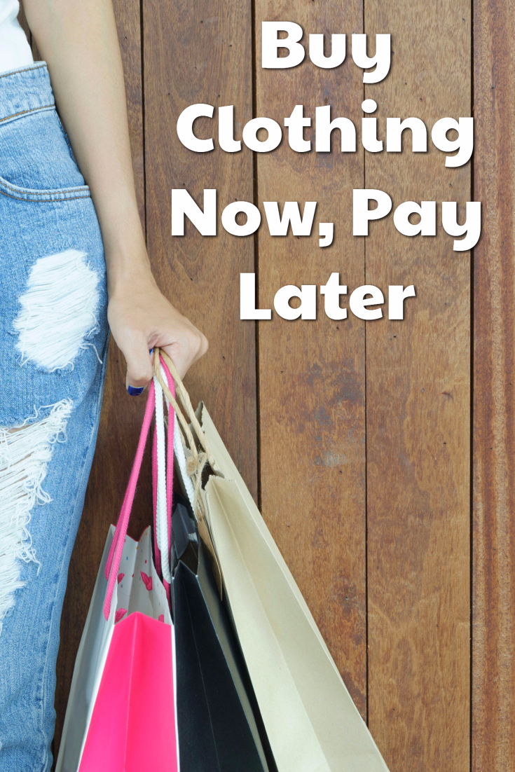 Buy Clothing Now, Pay Later
