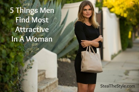Five Things Men Find Most Attractive In A Women