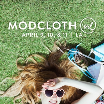 You're Invited to ModCloth IRL