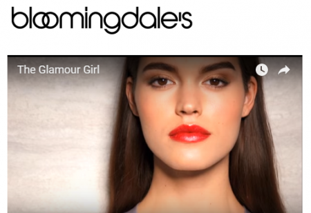 Bloomingdale's The Makeup Date: The Glamour Girl