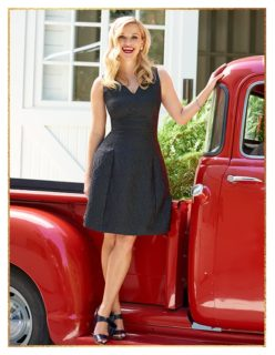 Steal Reese Witherspoon's Little Black Dress Style