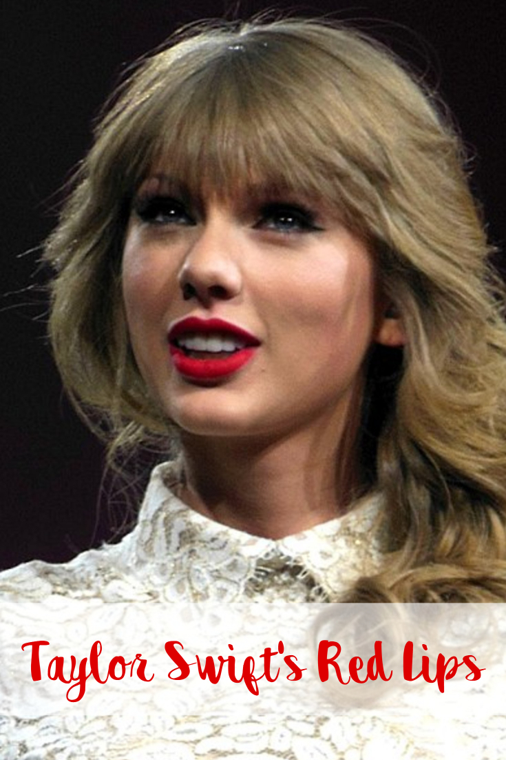 Taylor Swift's Red Lips