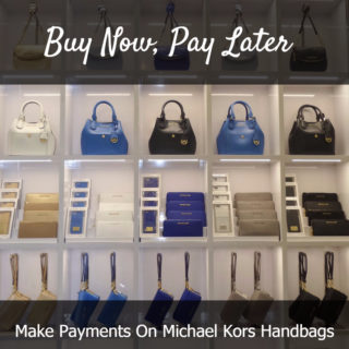 Buy Michael Kors Handbags Now, Pay Later