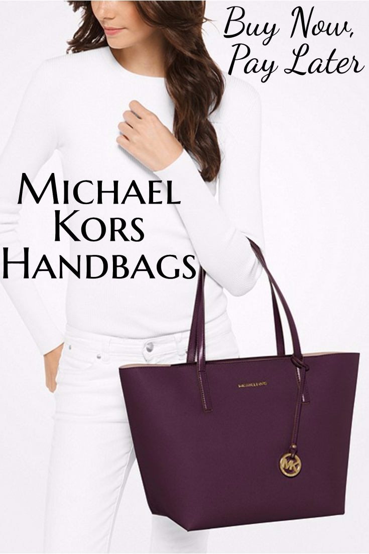 Buy new andused Michael Korshandbags at stores that offer payment plans ordeferred billing, so you can buy now and pay later and make payments!