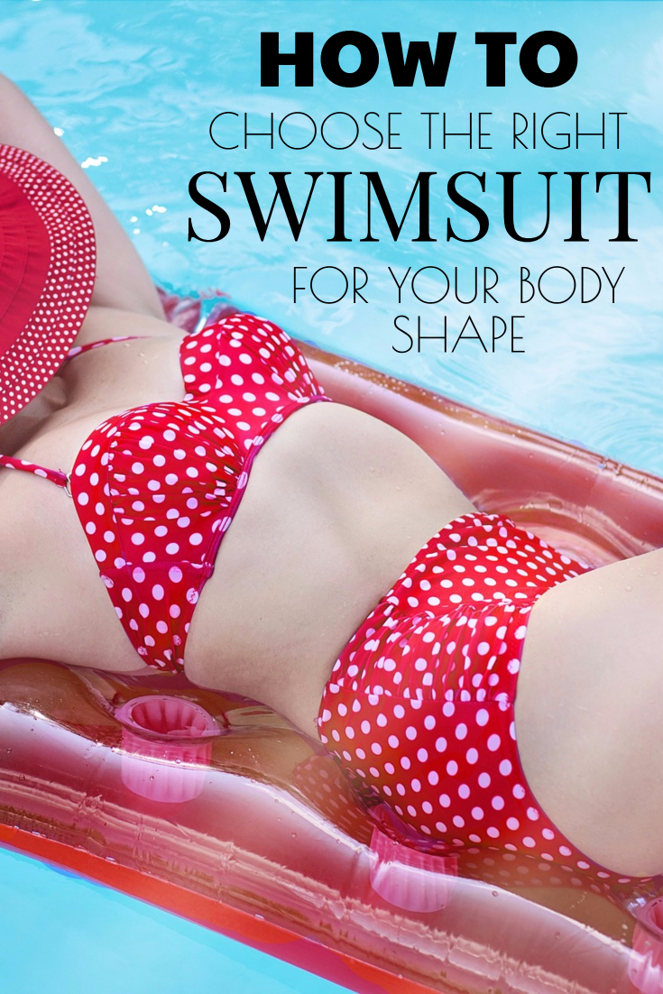 How To Choose The Right Swimsuit For Your Body Shape