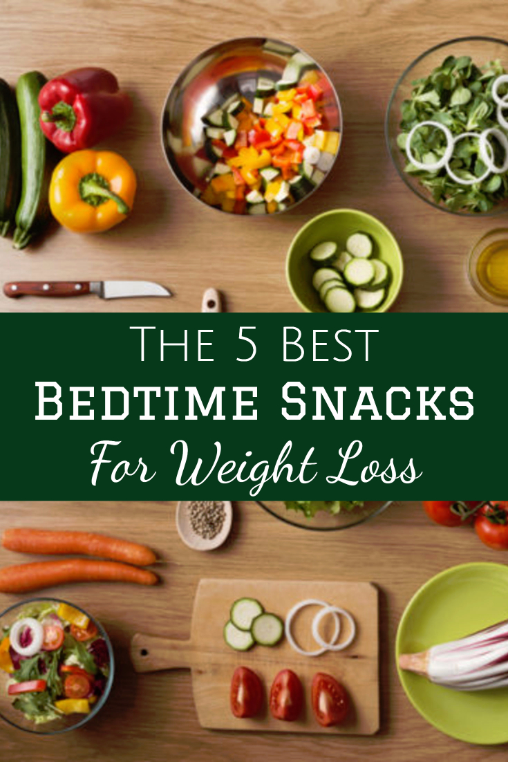 The 5 Best Bedtime Snacks for Weight Loss