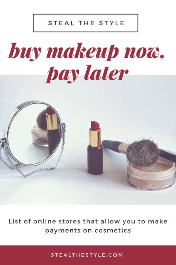 buy makeup now, pay later