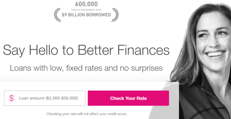 Say Hello to Better Finances Loans with low, fixed rates and no surprises