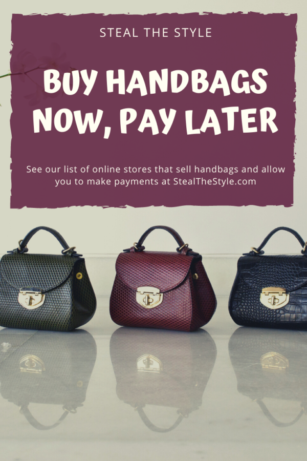 Buy Handbags Now, Pay Later With Stores That Offer Payment Plans