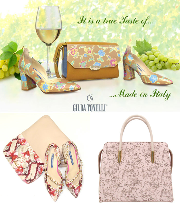 Bags And Shoe Collection by Gilda Tonelli Spring-Summer 2018
