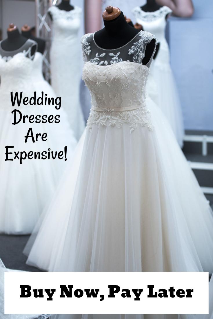 Buy a wedding dress now pay for it later with deferred for Paying for a wedding dress