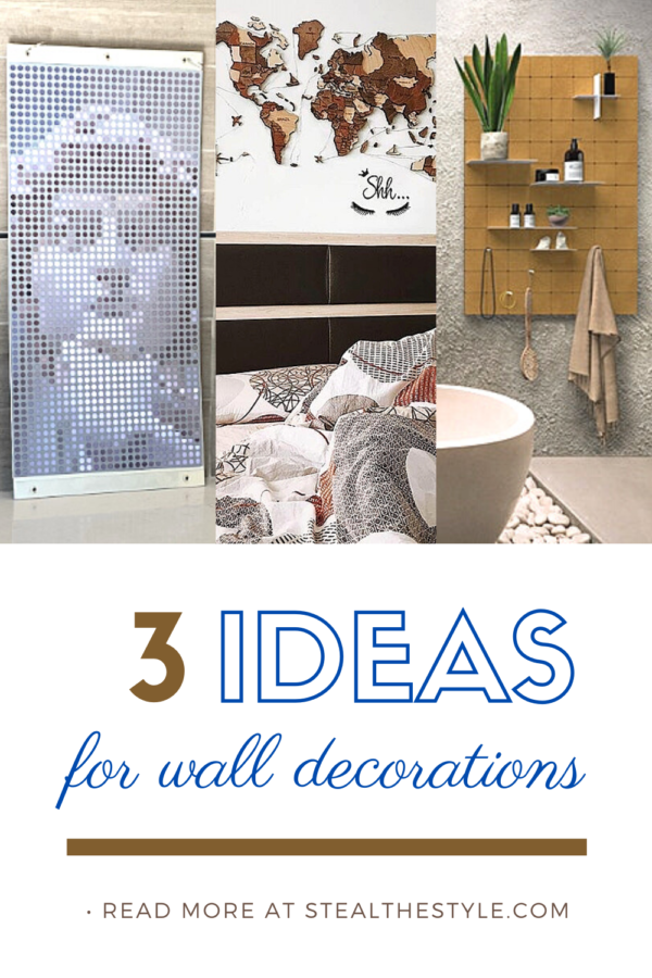 Three New Exciting And Unique Wall Decorations